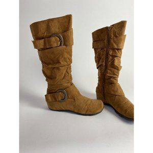 Jester Brown Boots sz 7.5